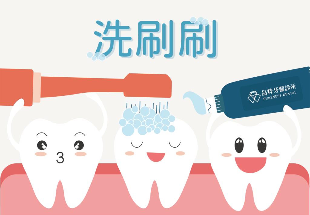 矯正諮詢前將牙齒刷乾淨哦
